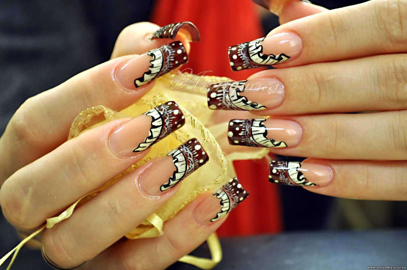 Фото обалденного дизайна ногтей